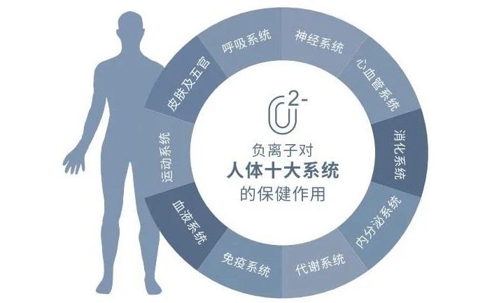 高浓度的空气负离子环境能降低病毒性疾病患者的死亡率