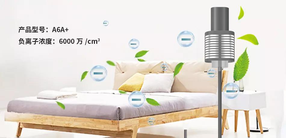 A6A+款负氧离子空气净化器