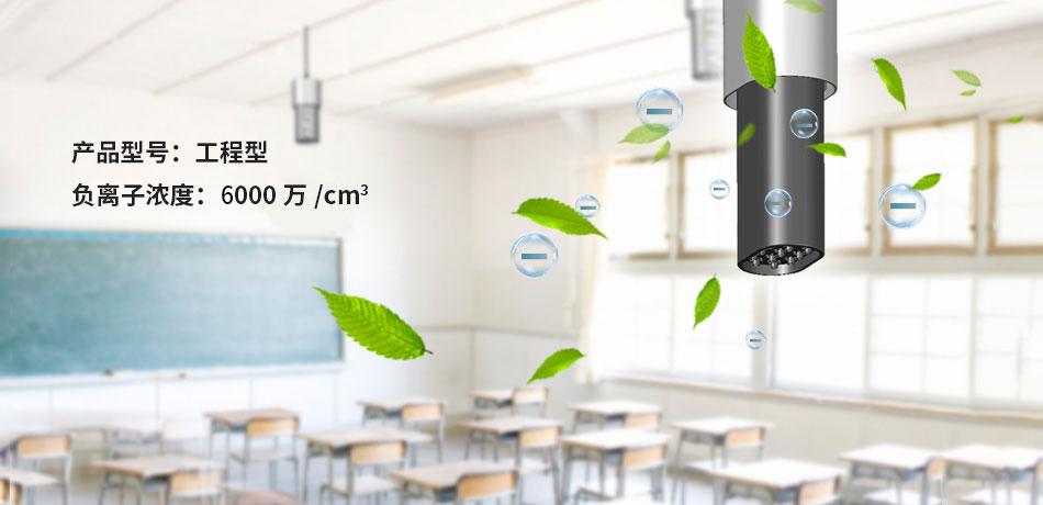 工程型负氧离子空气净化器